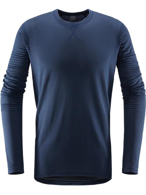 Haglöfs L.I.M Bluzka z długim rękawem Mężczyźni niebieski
